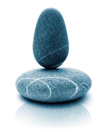 Stones balanced - Rachel Stevens, Alexander technique, Stress Illness Recovery, Psych-K